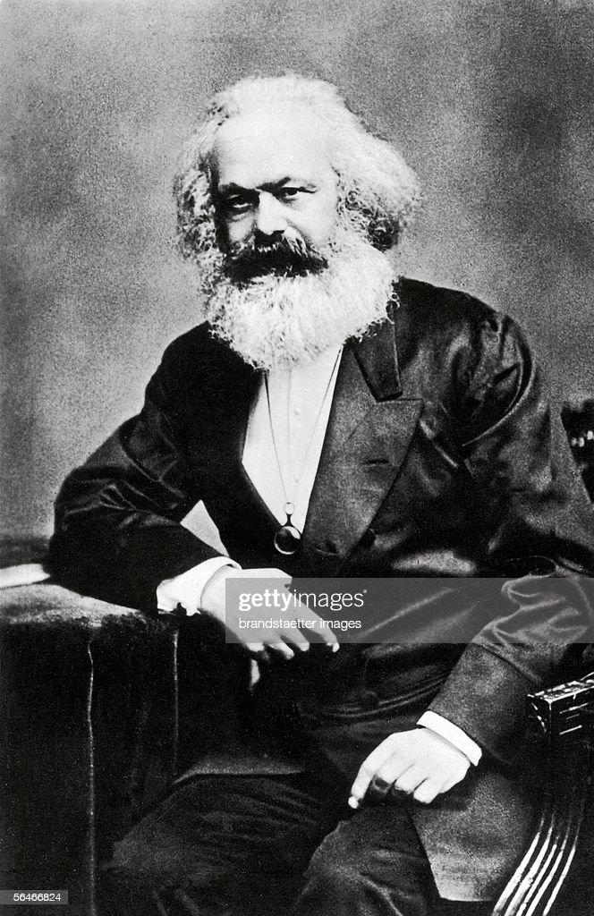 Karl Marx Photography Around 1880 [Karl Marx Photographie Um 1880]