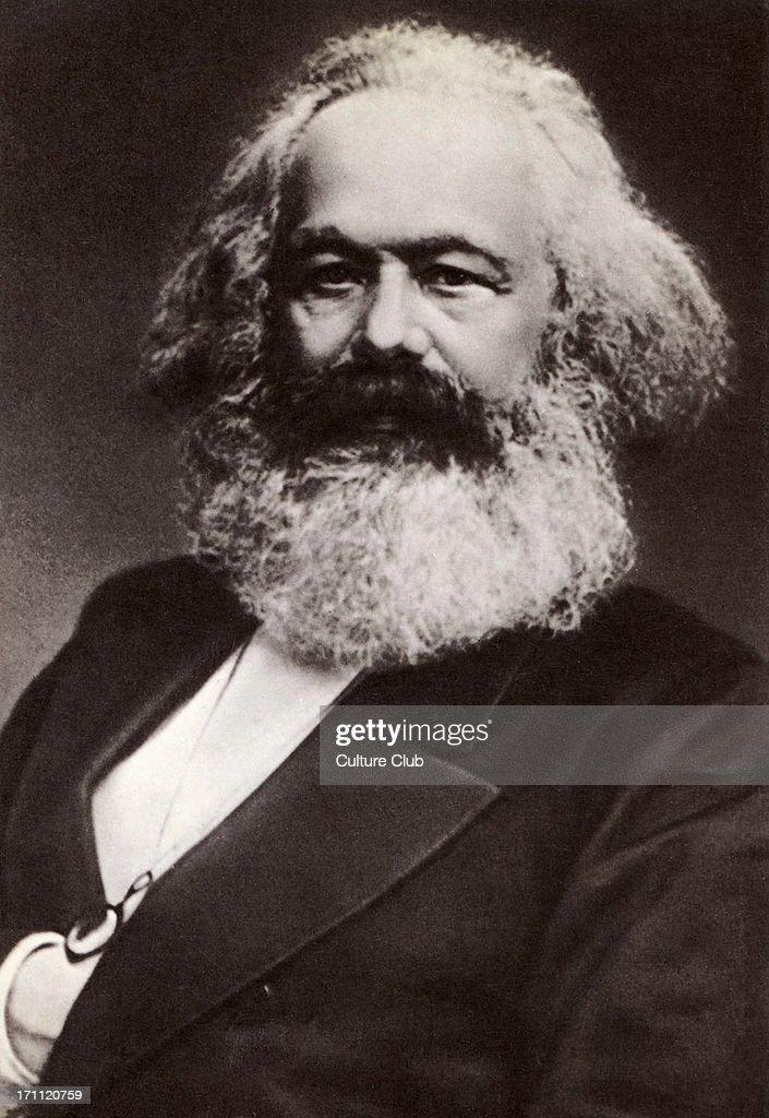 Karl Marx portrait German historian economist revolutionary 18181883