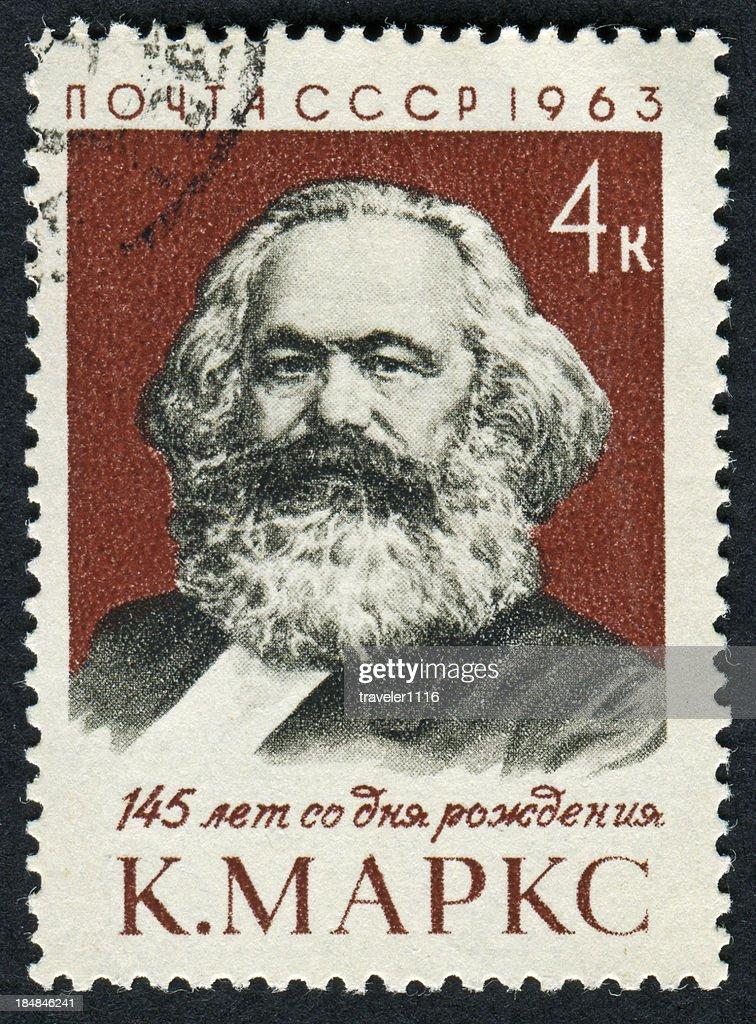 Karl Marx Stamp