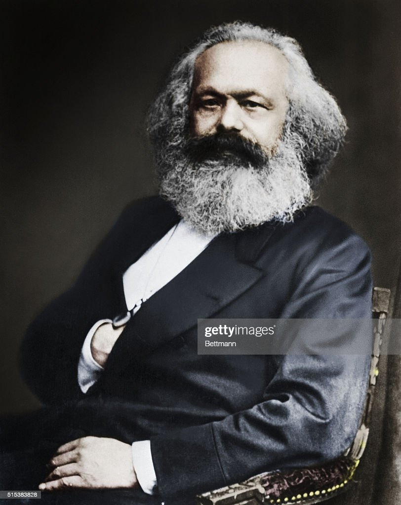 <a gi-track='captionPersonalityLinkClicked' href=/galleries/search?phrase=Karl+Marx&family=editorial&specificpeople=76462 ng-click='$event.stopPropagation()'>Karl Marx</a>, the founder of Communism, and author of Das Kapital, and, along with coauthor Fredrich Engels, The Communist Manifesto.