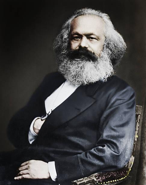 Karl Marx, German social, political and economic theorist ...