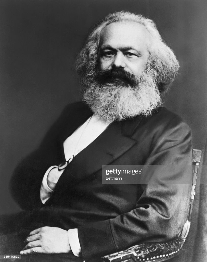 Karl Marx, the founder of Communism, and author of Das Kapital, and, along with coauthor Fredrich Engels, The Communist Manifesto.