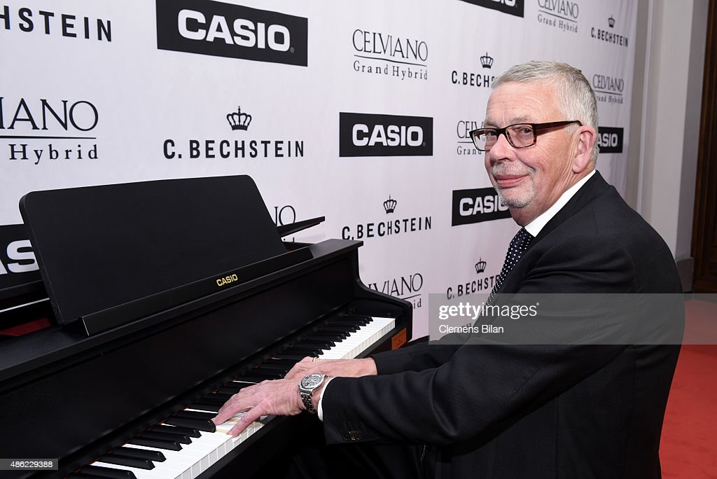 Karl Schulze CEO C Bechstein during the 'Casio Celviano Grand Hybrid Digital Piano Launch Gala' at Meistersaal on September 2 2015 in Berlin Germany