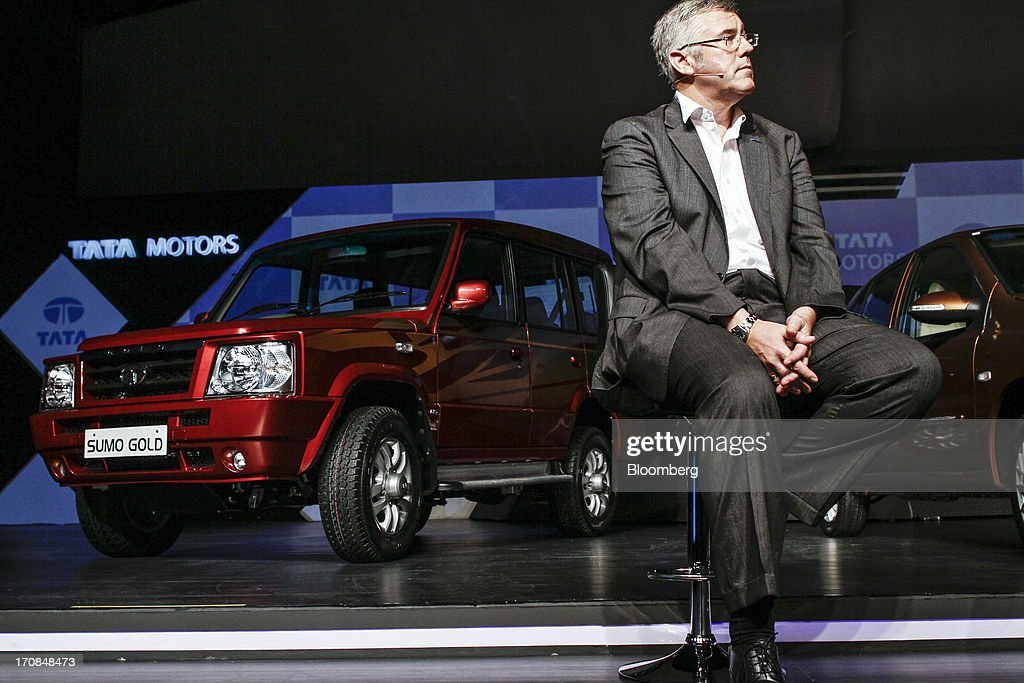 Karl Slym, managing director of Tata Motors Ltd., attends a Tata Motors media event in Pune, India, on Wednesday, June 19, 2013. Tata Motors announced the introduction of 8 new models today. Photographer: Dhiraj Singh/Bloomberg via Getty Images