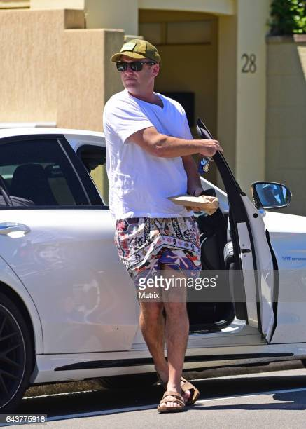 Karl Stefanovic is seen on February 15 2017 in Sydney Australia