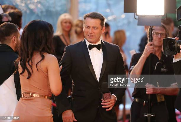 Karl Stefanovic looks on at the 59th Annual Logie Awards at Crown Palladium on April 23 2017 in Melbourne Australia