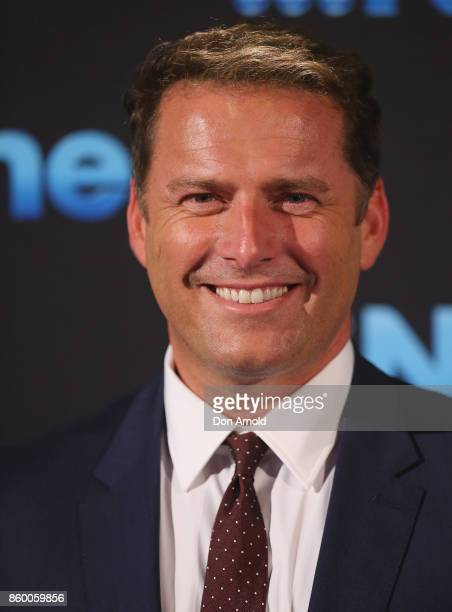 Karl Stefanovic poses during the Channel Nine Upfronts 2018 event on October 11 2017 in Sydney Australia