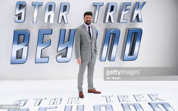Karl Urban arrives for the UK premiere of 'Star Trek Beyond' at Empire Leicester Square on July 12 2016 in London UK