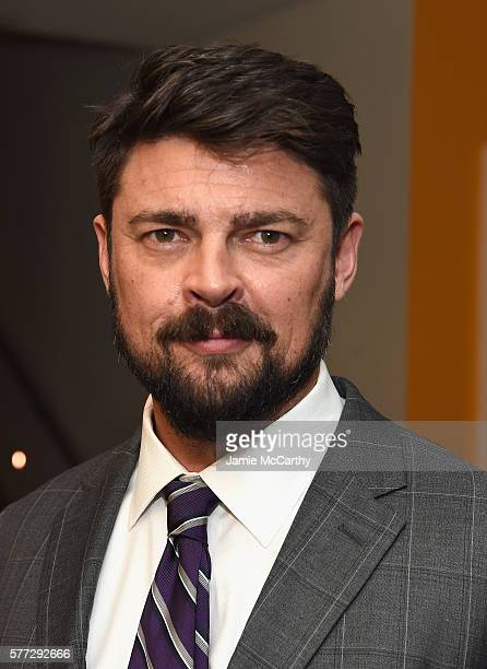 Karl Urban attends 'Star Trek Beyond' New York Premiere After Party at Crosby Street Hotel on July 18 2016 in New York City