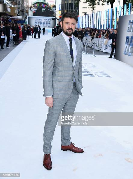 Karl Urban attends the UK Premiere of Paramount Pictures 'Star Trek Beyond' at the Empire Leicester Square on July 12 2016 in London England
