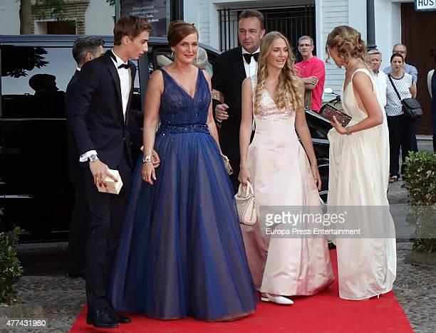 Karl von Habsburg head of the House of HabsbourgLorraine and Baronesss Francesca ThyssenBornemisza's children Eleonore of Austria Ferdinand of...