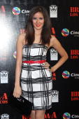 Karla Cardona attends the premiere of 'The ATeam' at Cinemex Antara Polanco on May 31 2010 in Mexico City Mexico