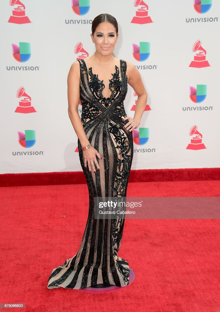 Karla Martinez attends the 18th Annual Latin Grammy Awards at MGM Grand Garden Arena on November 16, 2017 in Las Vegas, Nevada.