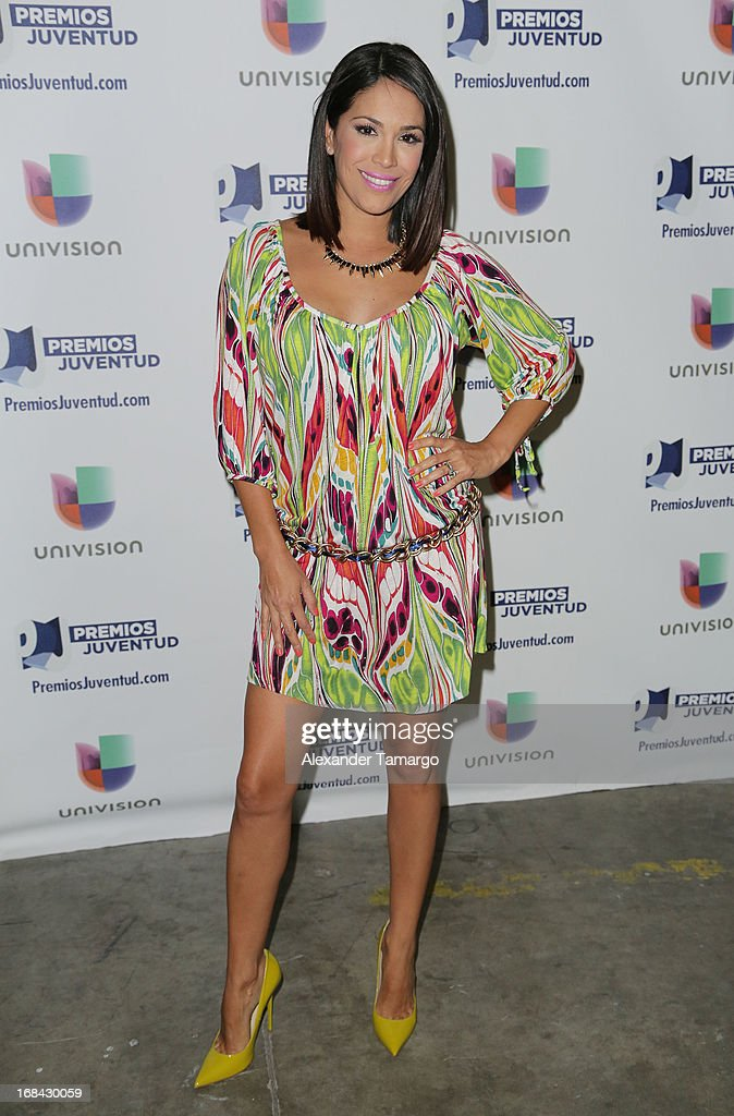 Karla Martinez attends Univisions Premios Juventud Awards Nominees press conference at Univision Headquarters on May 9, 2013 in Miami, Florida.