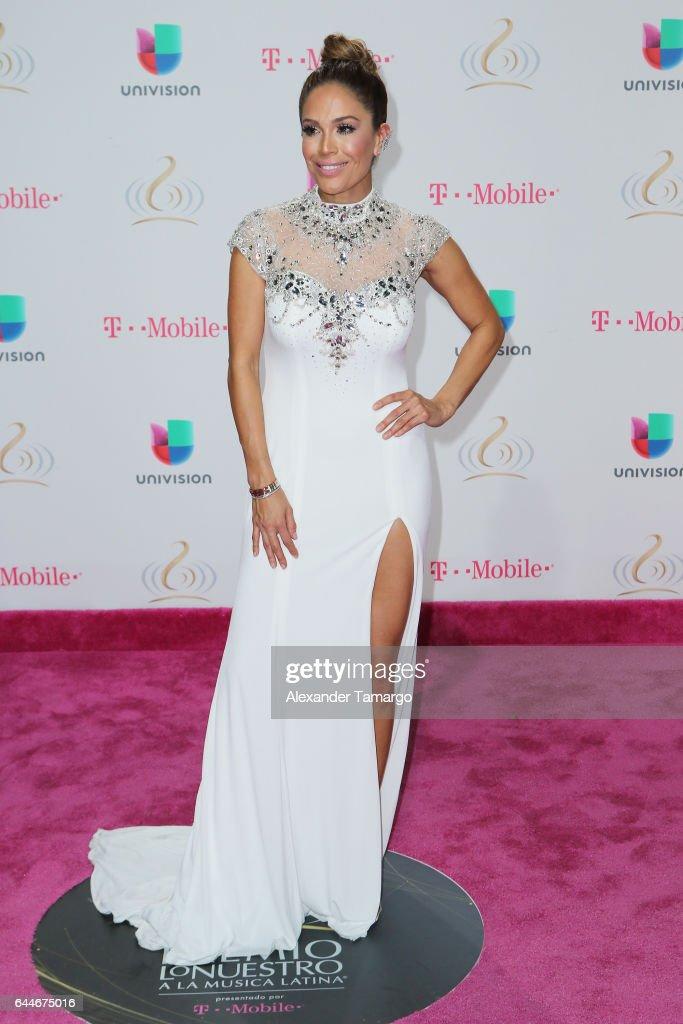 Karla Martínez attends Univision's 29th Edition of Premio Lo Nuestro A La Musica Latina at the American Airlines Arena on February 23, 2017 in Miami, Florida.