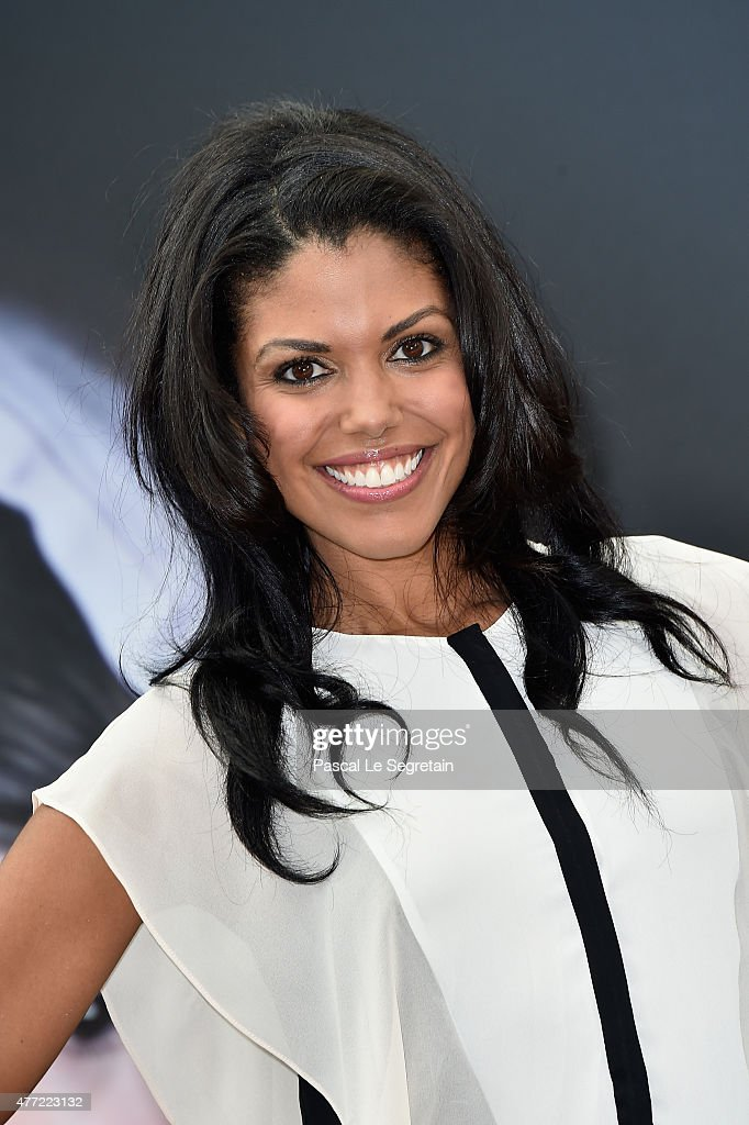 Karla Mosley attends a photocall for the 'The Bold and the Beautiful' TV series on June 15, 2015 in Monte-Carlo, Monaco.