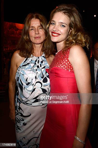 Karla Otto and Natalia Vodianova attend the dinner at 'Love Ball' hosted by Natalia Vodianova in support of The Naked Heart Foundation at Opera...