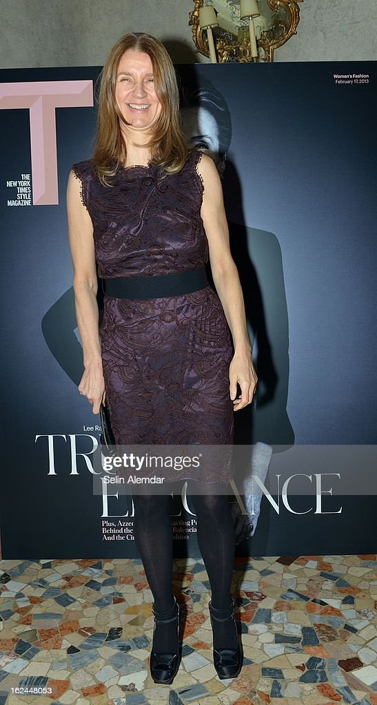 Karla Otto attends Deborah Needleman's New York Times inaugural issue party during Milan Fashion Week Womenswear Fall/Winter 2013/14 on February 23, 2013 in Milan, Italy.