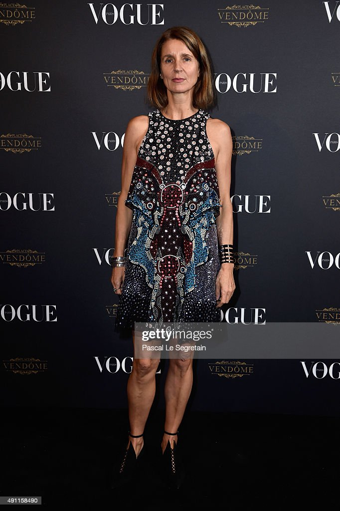 Karla Otto attends the Vogue 95th Anniversary Party on October 4, 2015 in Paris, France.