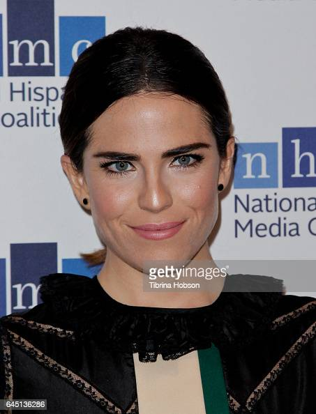 Karla Souza attends the National Hispanic Media Coalition's 20th Annual Impact Awards Gala at Regent Beverly Wilshire Hotel on February 24 2017 in...