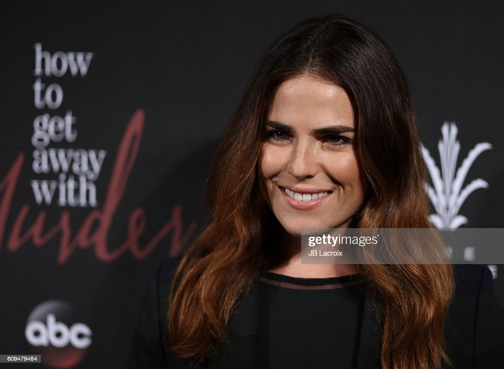 Premiere of abcs karla souza attends the premiere of abcs how to get away with murder season ccuart Images