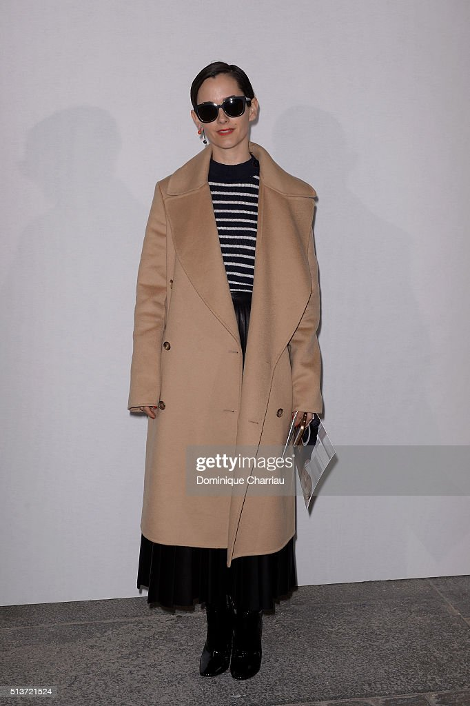 Karla Welch attends the Christian Dior show as part of the Paris Fashion Week Womenswear Fall/Winter 2016/2017 on March 4, 2016 in Paris, France.