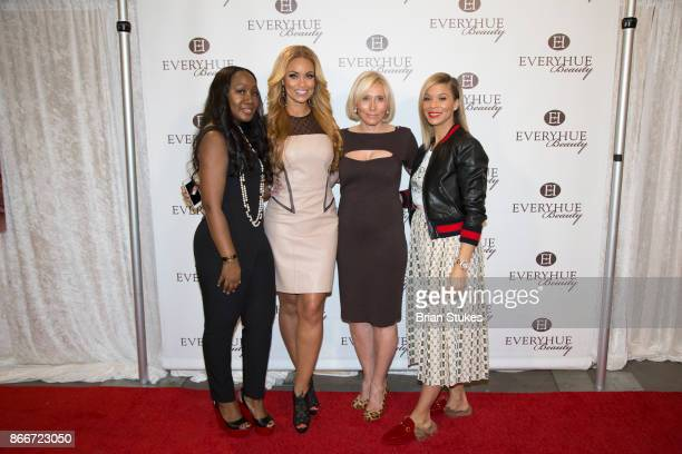 Karlene Damallie Gizelle Bryant Sophia Rabkin and Erika Liles attend Every Hue Beauty PopUp at The Showroom on October 25 2017 in Washington DC
