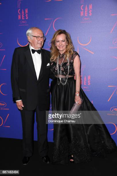 Caroline Scheufele attends the 70th Anniversary Dinner during the 70th annual Cannes Film Festival at on May 23 2017 in Cannes France