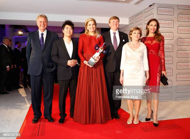 Karlheinz Koegel Lang Lang Queen Maxima of the Netherlands King WillemAlexander of the Netherlands Daniela Schadt and Dagmar Koegel attend the German...