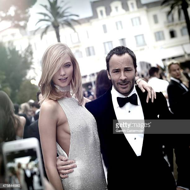 Karlie Kloss and Tom Ford attend amfAR's 22nd Cinema Against AIDS Gala Presented By Bold Films And Harry Winston at Hotel du CapEdenRoc on May 21...