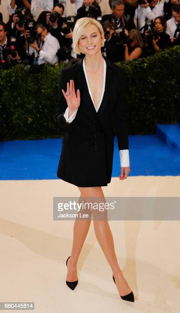 Karlie Kloss at 'Rei Kawakubo/Comme des GarçonsArt of the InBetween' Costume Institute Gala at Metropolitan Museum of Art on May 1 2017 in New York...