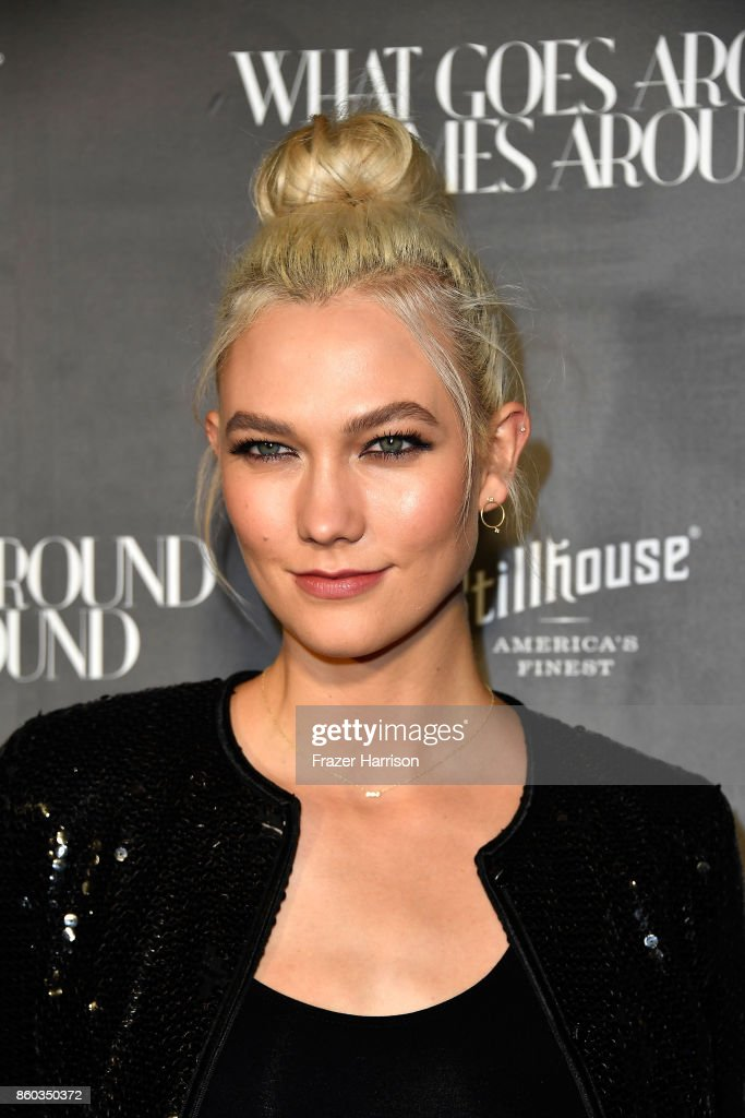 Karlie Kloss at What Goes Around Comes Around on October 11, 2017 in Beverly Hills, California.