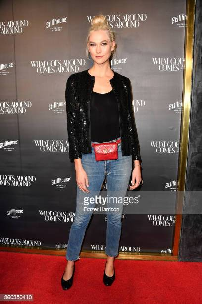 Karlie Kloss at What Goes Around Comes Around on October 11 2017 in Beverly Hills California