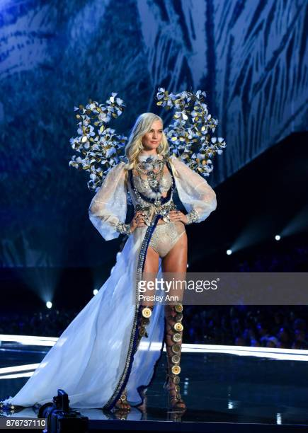 Karlie Kloss attends 2017 Victoria's Secret Fashion Show In Shanghai Show at MercedesBenz Arena on November 20 2017 in Shanghai China