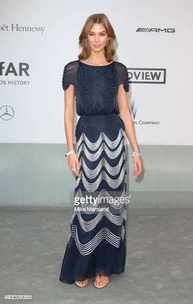 Karlie Kloss attends amfAR's 21st Cinema Against AIDS Gala Presented By WORLDVIEW BOLD FILMS And BVLGARI at the 67th Annual Cannes Film Festival on...