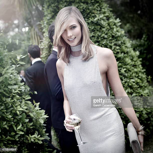 Karlie Kloss attends amfAR's 22nd Cinema Against AIDS Gala Presented By Bold Films And Harry Winston at Hotel du CapEdenRoc on May 21 2015 in Cannes...