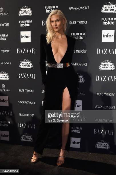Karlie Kloss attends Harper's BAZAAR Celebration of 'ICONS By Carine Roitfeld' at The Plaza Hotel presented by Infor Laura Mercier Stella Artois...