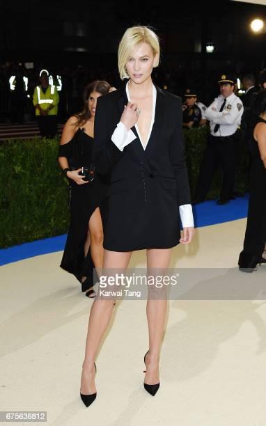 Karlie Kloss attends 'Rei Kawakubo/Comme des Garcons Art Of The InBetween' Costume Institute Gala at Metropolitan Museum of Art on May 1 2017 in New...