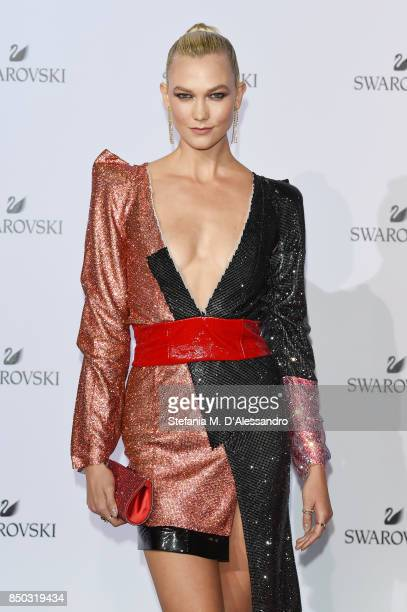 Karlie Kloss attends Swarovski Crystal Wonderland Party on September 20 2017 in Milan Italy
