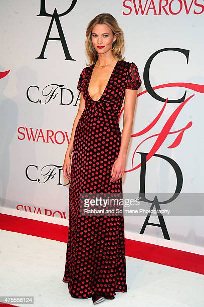 Karlie Kloss attends the 2015 CFDA Fashion Awards at Alice Tully Hall at Lincoln Center on June 1 2015 in New York City