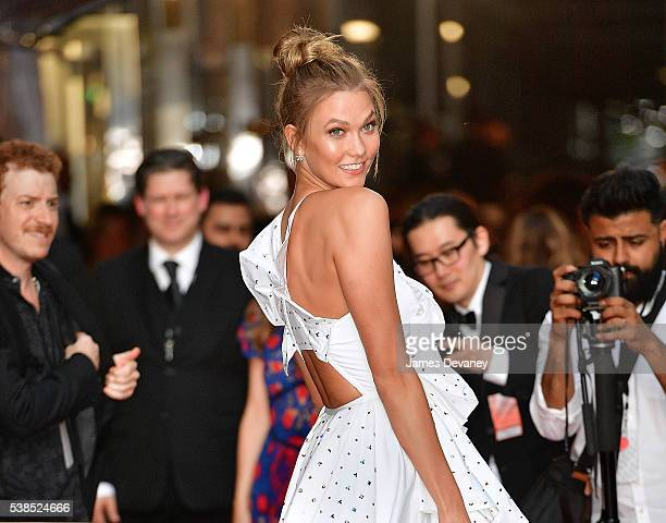 Karlie Kloss attends the 2016 CFDA Fashion Awards at the Hammerstein Ballroom on June 6 2016 in New York City