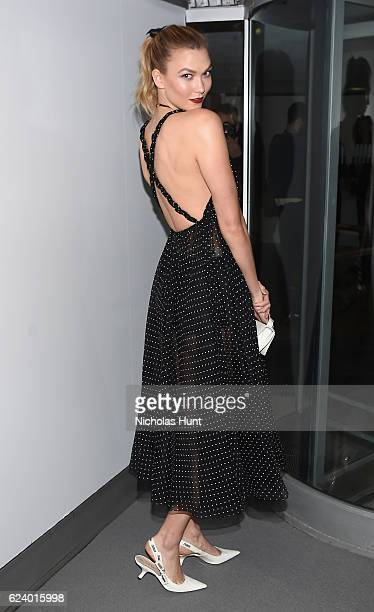 Karlie Kloss attends the 2016 Guggenheim International Gala Made Possible By Dior at Solomon R Guggenheim Museum on November 17 2016 in New York City