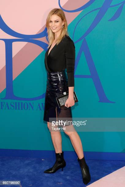 Karlie Kloss attends the 2017 CFDA Fashion Awards at Hammerstein Ballroom on June 5 2017 in New York City
