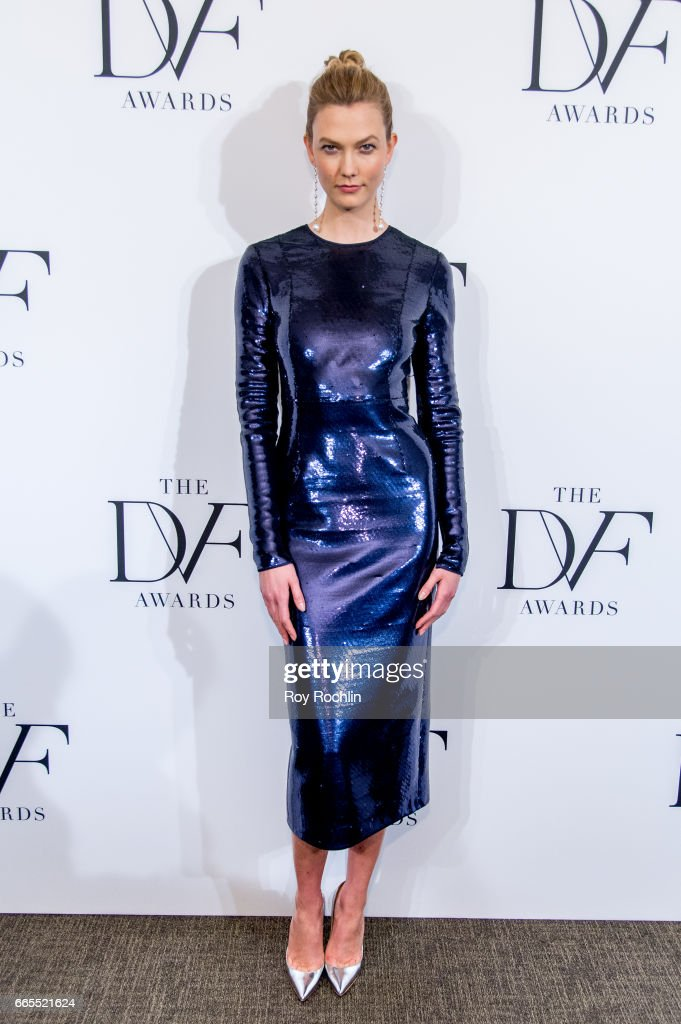 Karlie Kloss attends the 2017 DVF Awards at United Nations on April 6, 2017 in New York City.