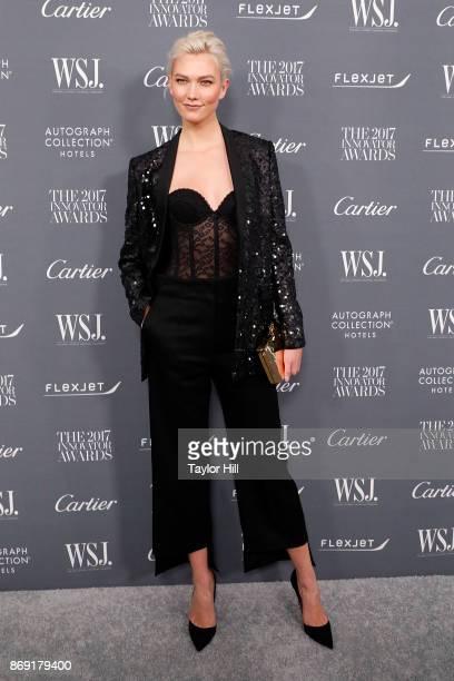 Karlie Kloss attends the 2017 WSJ Magazine Innovator Awards at Museum of Modern Art on November 1 2017 in New York City