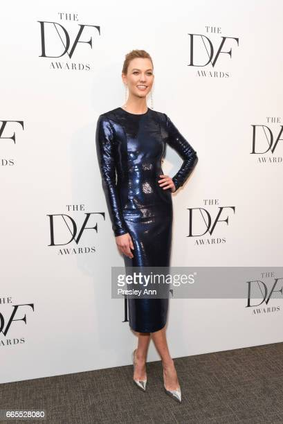 Karlie Kloss attends The 8th Annual DVF Awards at United Nations on April 6 2017 in New York City