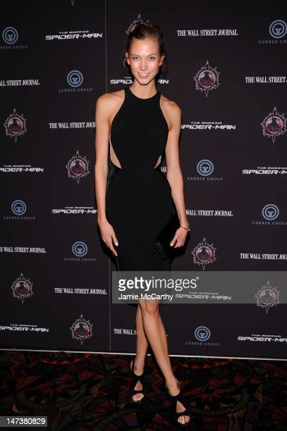 Karlie Kloss attends 'The Amazing SpiderMan' New York Special Screening at Regal Union Square Theatre Stadium 14 on June 28 2012 in New York City