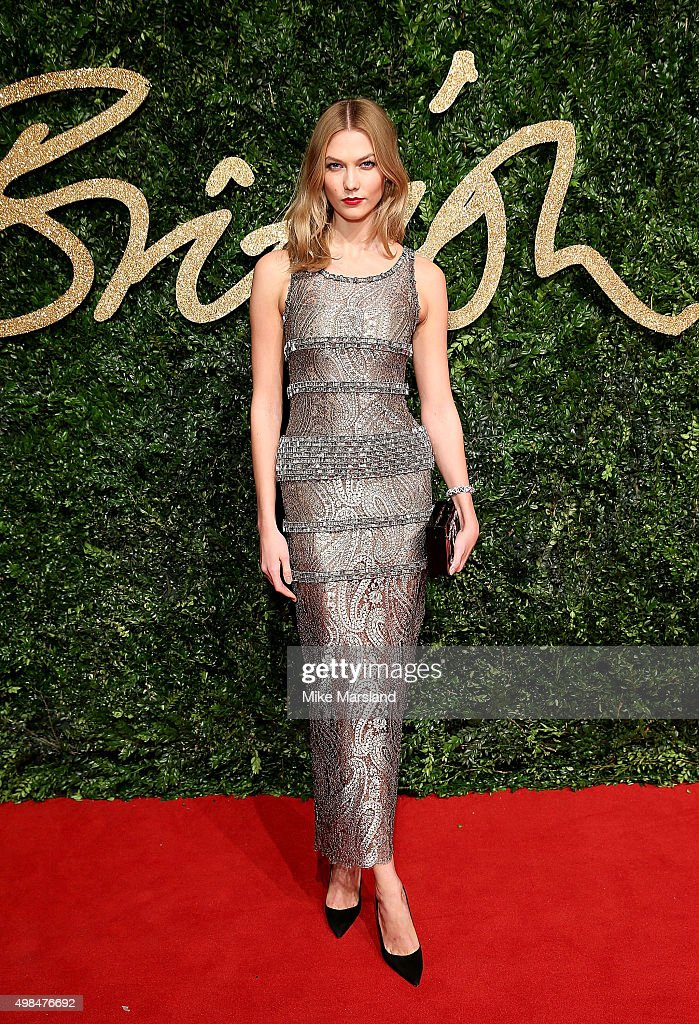 British Fashion Awards 2015 - Red Carpet Arrivals