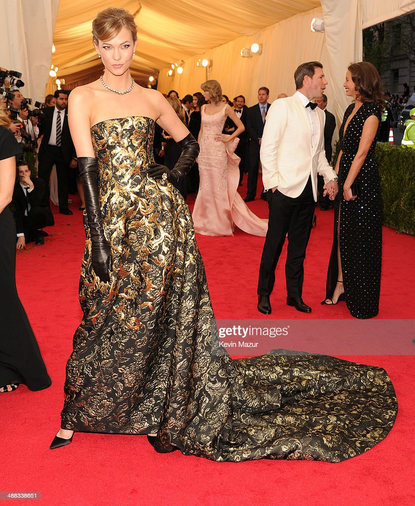 Karlie Kloss attends the 'Charles James Beyond Fashion' Costume Institute Gala at the Metropolitan Museum of Art on May 5 2014 in New York City