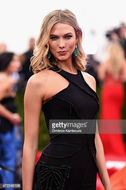 Karlie Kloss attends the 'China Through The Looking Glass' Costume Institute Benefit Gala at the Metropolitan Museum of Art on May 4 2015 in New York...